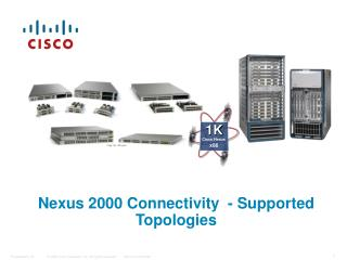 Nexus 2000 Connectivity  - Supported Topologies