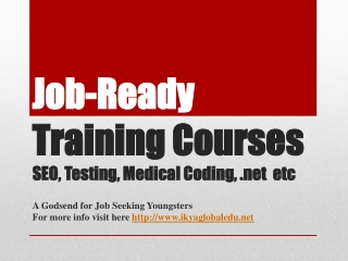 Medical Coding Training in Hyderabad, SEO Training