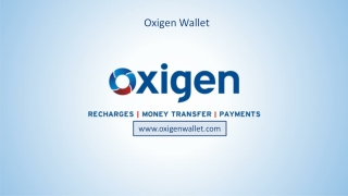 Oxigen Wallet : Money Tranfer, Recharge