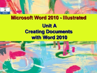 Microsoft Word 2010 - Illustrated