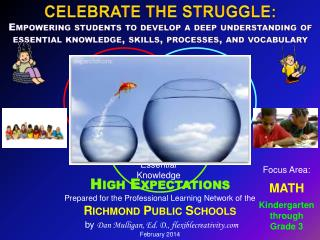 Prepared for the Professional Learning Network of the Richmond Public Schools by  Dan Mulligan, Ed. D., flexiblecreativi