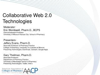 Collaborative Web 2.0 Technologies