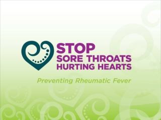STOP SORE THROATS HURTING HEARTS