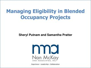Managing Eligibility in Blended Occupancy Projects