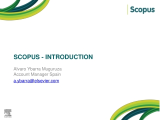 SCOPUS - Introduction