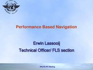 Performance Based Navigation