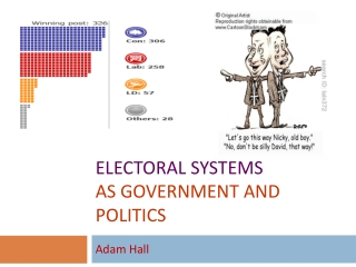 Electoral Systems AS Government and Politics