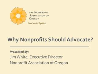 Why Nonprofits Should  Advocate ?