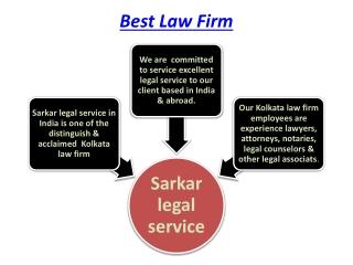 Best Law Firm in Kolkata