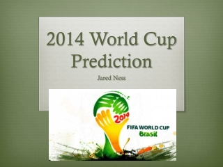 2014 World Cup Prediction