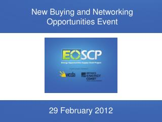 New Buying and Networking Opportunities Event
