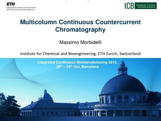 Multicolumn  Continuous Countercurrent  Chromatography