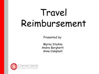 Travel   Reimbursement