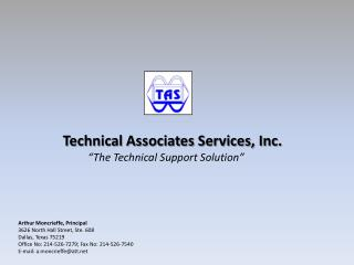 Technical Associates Services, Inc.