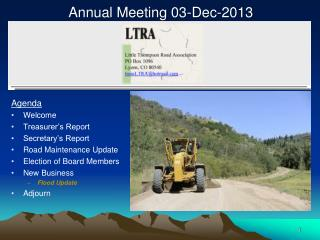 Annual Meeting 03-Dec-2013
