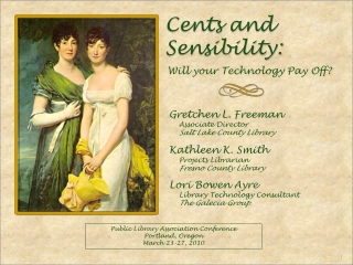 Cents and Sensibility: