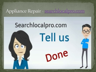 Appliance Repair - searchlocalpro.com