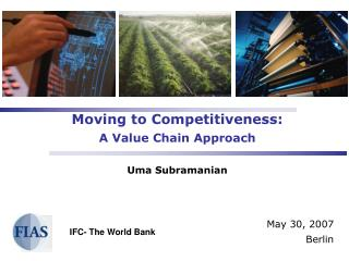 Moving to Competitiveness: A Value Chain Approach