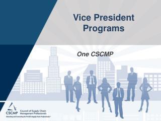 Vice President Programs