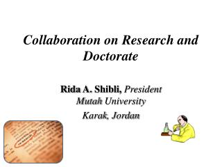Collaboration  on  Research and Doctorate