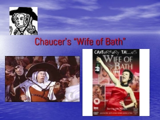 """Chaucer's """"Wife of Bath"""""""