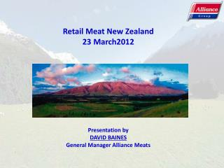 Retail Meat New Zealand 23 March2012
