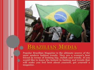 Brazilian News In Usa