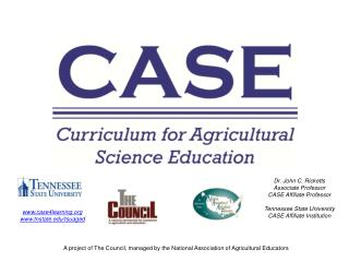 A project of The  Council, managed by the National Association of Agricultural Educators