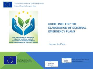 Guidelines for the elaboration of  EXternal  emergency plans