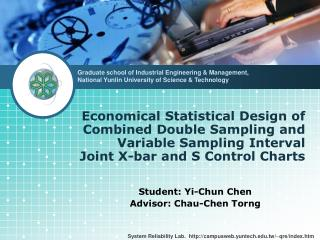 Economical Statistical Design of  Combined Double Sampling and Variable Sampling Interval  Joint X-bar and S Control Ch