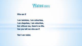 Water (H2O )