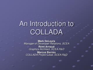An Introduction to COLLADA