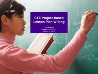 CTE  Project-Based Lesson Plan Writing