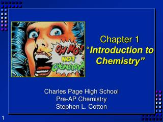 chapter 1  introduction to chemistry