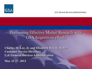 Performing Effective Market Research with GSA Acquisition eTools