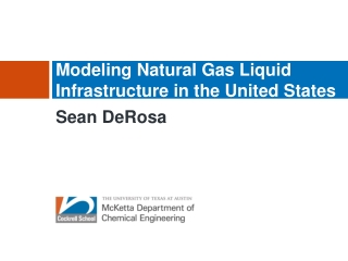 Modeling Natural Gas Liquid Infrastructure in the United States