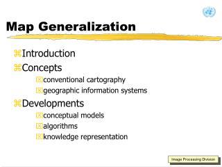 Map Generalization