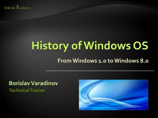 History of Windows OS