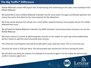 The Big Traffic® Difference