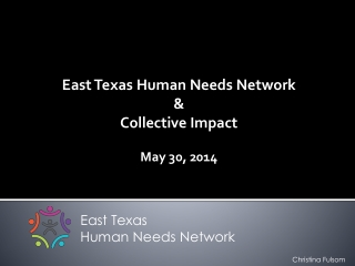 East Texas Human Needs Network &  Collective Impact May 30, 2014
