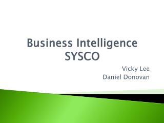 Business Intelligence SYSCO