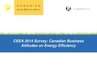 CEEA 2014 Survey: Canadian Business Attitudes on Energy Efficiency