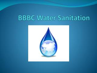 BBBC Water Sanitation