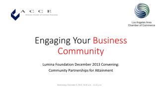 Engaging Your Business Community