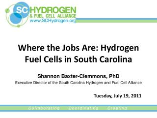 Where the Jobs Are: Hydrogen Fuel Cells in South Carolina