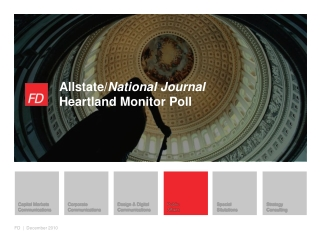 Allstate/ National Journal Heartland Monitor Poll