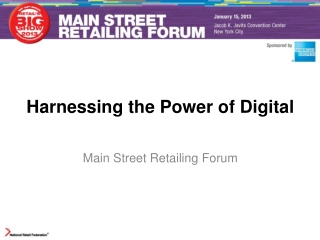 Harnessing the Power of Digital
