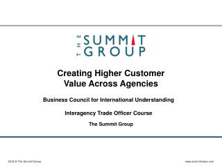 Creating Higher Customer Value Across Agencies