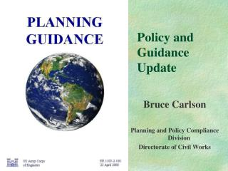 Policy and Guidance Update