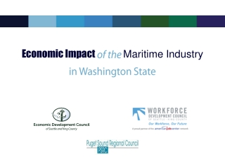 Economic Impact of the  Maritime  Industry in Washington  State